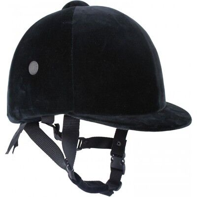 """Horka Eurotop Safety Riding Hat Black - Size 6 5/8"""" 54cm NEW WITHOUT TAGS"""