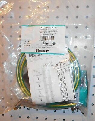 Lot Of 5 New  Panduit Rgcbnj660Py Common Bonding Jumper Kits
