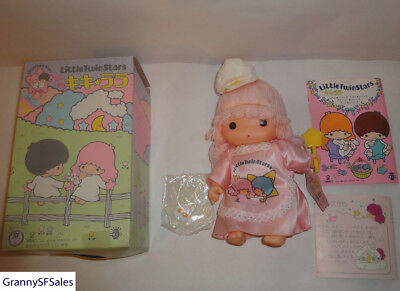 Vintage 1976 Sanrio Little Twin Stars Lala Doll 6 1/2 Inches in Height w/ Box