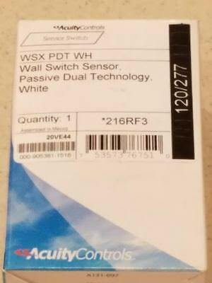 Acuity Controls WSX PDT WH Wall Mount Dual Technology Motion Detector White