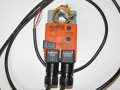 Belimo LMB-24-3 S 45 in-lb Actuator with End Switch Floating or On/Off Control