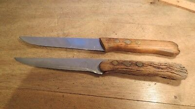 Friedr. Herder Abr. Sohn 2 alte Messer the beauty and that rotted  herder knife