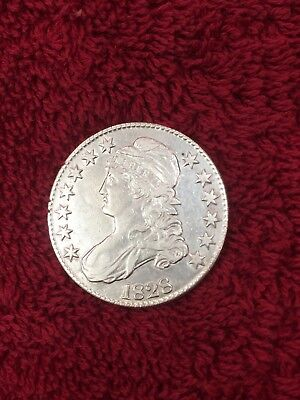 1828 Capped Bust Half Dollar , Great Details
