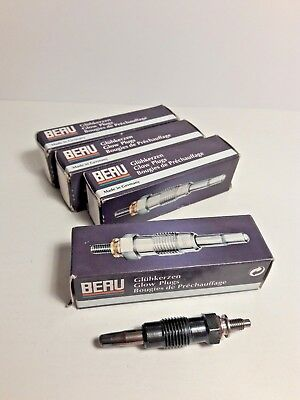 4X DIESEL HEATER GLOW PLUGS FOR FORD COURIER ESCORT FIESTA MONDEO 1.8 TD D