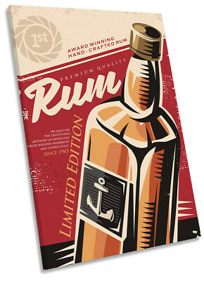 RUM DRINK ALCOHOL  View Canvas Wall Art Picture Large SIZES  DR25  X MATAGA