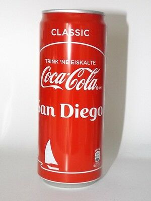 COCA COLA SAN DIEGO Dose 0,33L Neu Voll  Sommeredition 2017 Germany