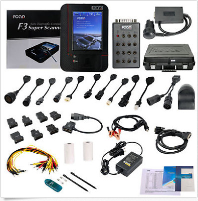 F3G Ex-Demo Fcar Scan Tool Car, Trucks, Buses, Tractors, Earth Moving Vehicle