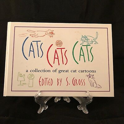 """""""cats Cats Cats"""" Book Of Great Cat Cartoons Edited By S.gross Isbn:0-7607-0539-9"""
