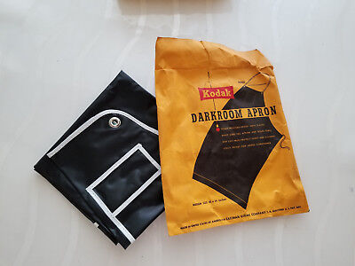 Vintage Kodak Darkroom Apron Medium Size Made In USA 30 x 34 Inches