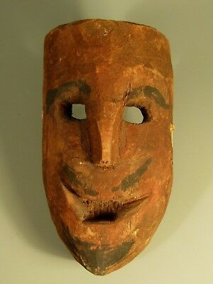 Nepal Nepalese Middle Hills Area carved Wood Shamanic Mask ca. 19-20th c.