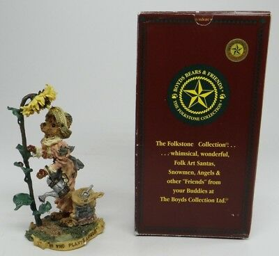 Boyds Bears & Friend Folkstone Collection~Liddy Pearl..how Does Your Garden Grow