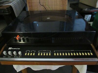 Adc Accutrac 4000. Automatic Track Selection Turntable. Non-Working. Used-Usa