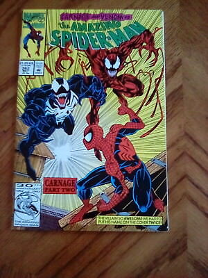 Amazing Spiderman #362 Vf/nm Venom & Carnage