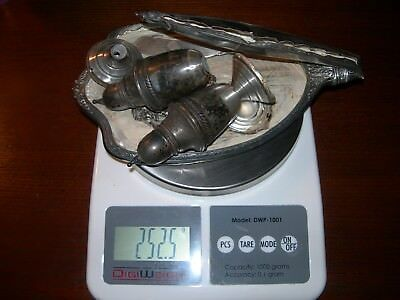 250 Grams Of Solid Sterling Silver Scrap Lot>