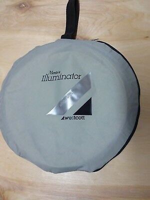 Westcott Monte's Illuminator Square Collapsible Reflector 2-1 Silver/Black