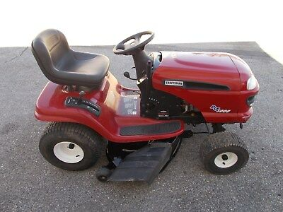 Sears Craftsman Riding Mower Dlt 3000 17 5 Hp Briggs 42 Grt Cond