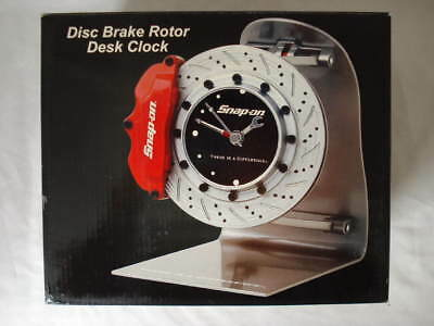 Snap-On Tools Disc Brake Rotor Desk Clock Clock New
