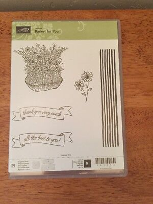 Stampin' Up Basket for You, Thank You, All the Best - New