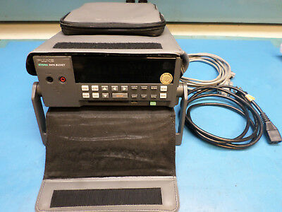 Fluke 2635A Data Bucket Acquisition System w/Input Module, Carrying Case, Cables