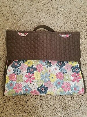 Thirty one 31 Large Garment bag luggage in Floral fanfare