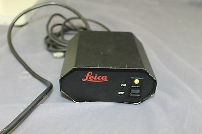 Leica model 42-12-73 power supply w/6-prong female connector