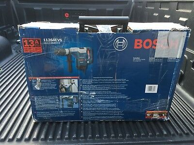 """NEW Bosch 1 5/8"""" SDS Max Rotary Hammer 11264EVS w/Case"""