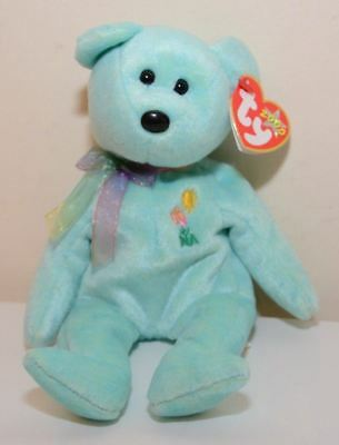 Ty Beanie Baby ~ Ariel the Bear ~ 6th Generation Hang Tag ~ Retired ~ 2000