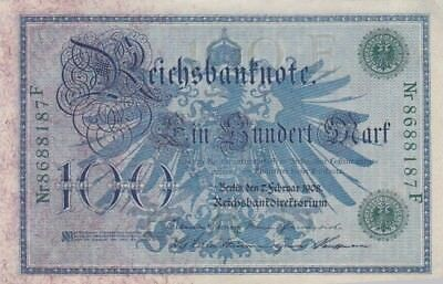 1908 Germany 100 Mark Note, Pick 34