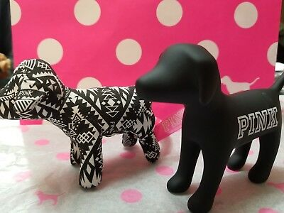 💖 Victoria's Secret PINK Limited Edition Mini Dog Set of Two (2)💖
