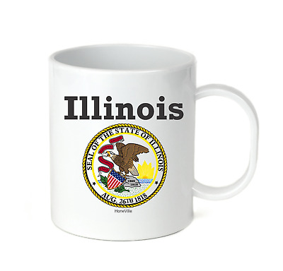 Details about  /Coffee Cup Mug Travel 11 15 oz City State Country Louisiana Seal Home Sweet Home