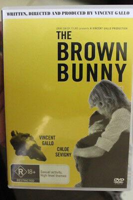 The Brown Bunny Oop Rare Deleted Dvd Vince Gallo & Chloe Sevigny Sexuality Film