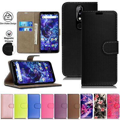 LEATHER WALLET CASE COVER FOR Nokia 2.2 1 Plus 3.1 5.1 6.1 7.1 8.1 Mobile Phone