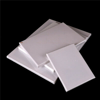 Blank Square Artist Canvas Wooden Board Frame For Primed Oil Acrylic Paint Pop.
