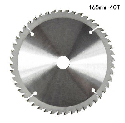 165mm 65T 20mm Bore TCT Circular Saw Blade Disc for Ryobi Bosch Cutting Wood