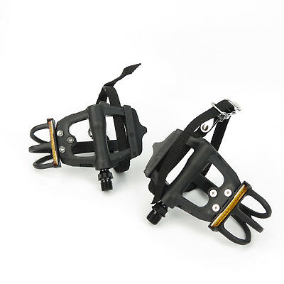 VP Component VP-710M Cage Pedal With Strap 9//16 Black