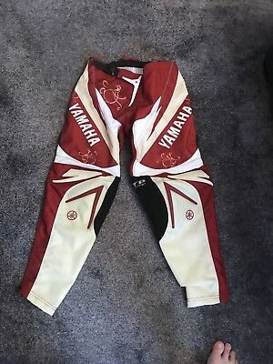 Yamaha Motorcross Trousers Size 26 (Boys)