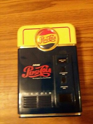 1996 Soda PEPSI-COLA Coin Sorter Bank by PEPSICO