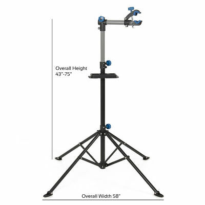 """Pro Bike Adjustable 43"""" To 75"""" Repair Stand w/ Telescopic Arm Bicycle Cycle Rack"""