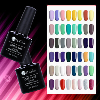 7.5ml UR SUGAR Christmas Party UV LED Gel Polish Nail Soak Off Varnish Glitter