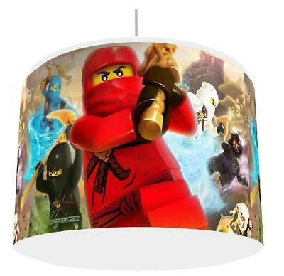 NINJAGO BATTLE LIGHT SHADE KIDS ROOM matches duvet set  NEW