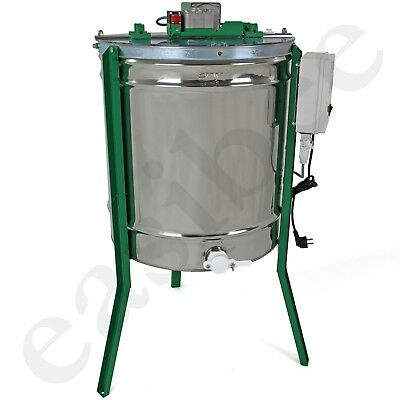New 9 frame electric powered stainless steel honey extractor