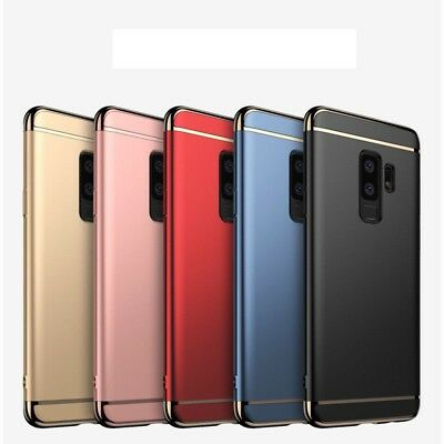 Samsung Galaxy S9 & S9 Plus Luxury Ultra Slim Shockproof Bumper Case Cover