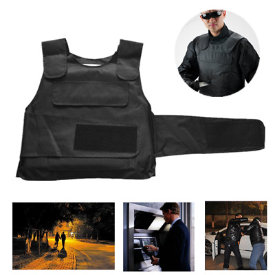 Anti Stab Vest Stabproof Anti-knifed Defense Protect Body Armour Gents Vest BG