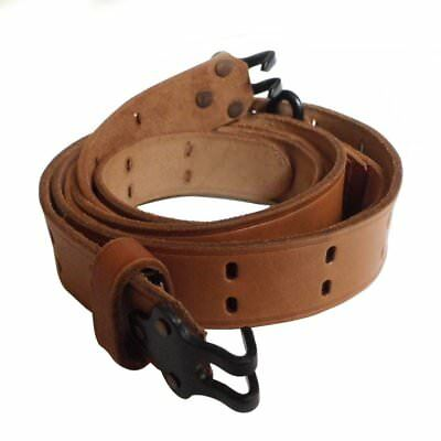Ww2 Wwii Us M1 Rifle Garand Gun M1907 M1903 Leather Strap Sling Brown