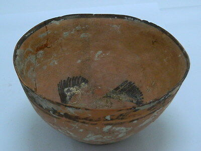 Ancient Large Size Teracotta Painted Pot Indus Valley 2500 BC   #PT1524