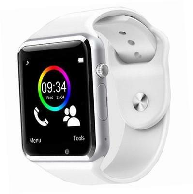 A1 2017 Bluetooth Smart Watch con slot per Android Samsung iPhone iOS