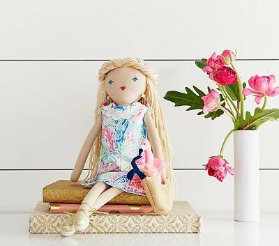 Lilly Pulitzer Pottery Barn Little Lilly Designer Doll - In Hand