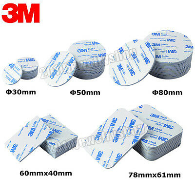 20pcs 3M EVA Foam Double Sided Adhesive Tape Pad Mounting Tape Thick 2mm White