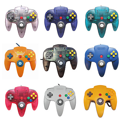 【15variations】Nintendo 64 Original Official Controller N64 Japan Pikachu F/S