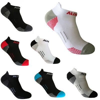 Men's Professional Sports Ankle Socks Hiking Breathable Fast Dry Towel Sock Crew